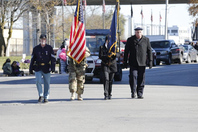 Richmond's 10th Veterans Parade took place Saturday, Nov. 10, 2018, along North E Street and Fort Wayne Avenue in the Historic Depot District. The event was organized by the Richmond Parks and Recreation Department.