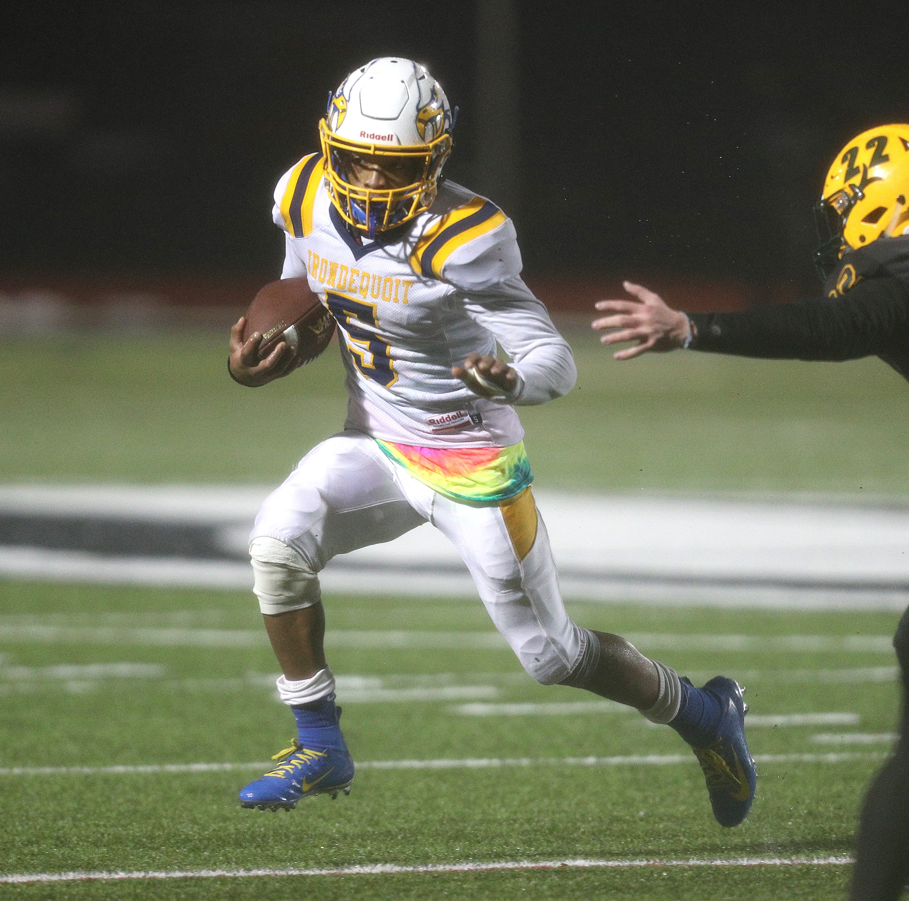Irondequoit's Jadon Turner on the clock with National Signing Day approaching