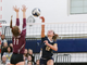 Victor's Emma Werkmeister (12) spikes the ball against the Orchard Park on Nov. 9, 2018.