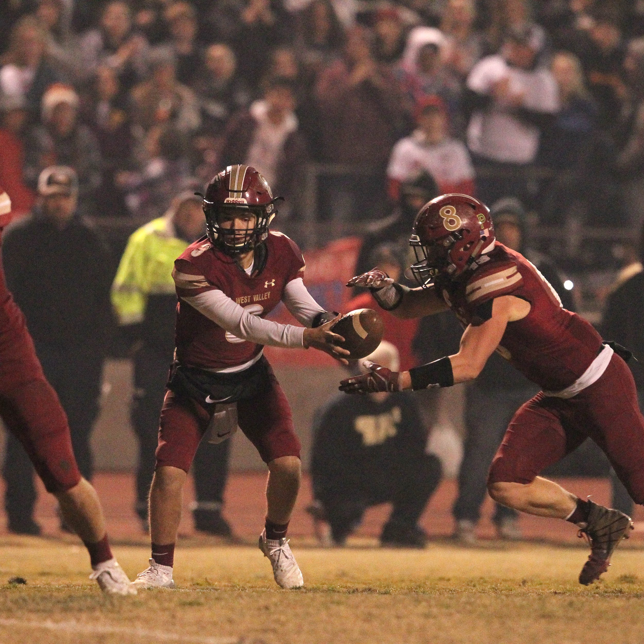 Football roundup: West Valley wins a somber, smoky playoff game over U-Prep