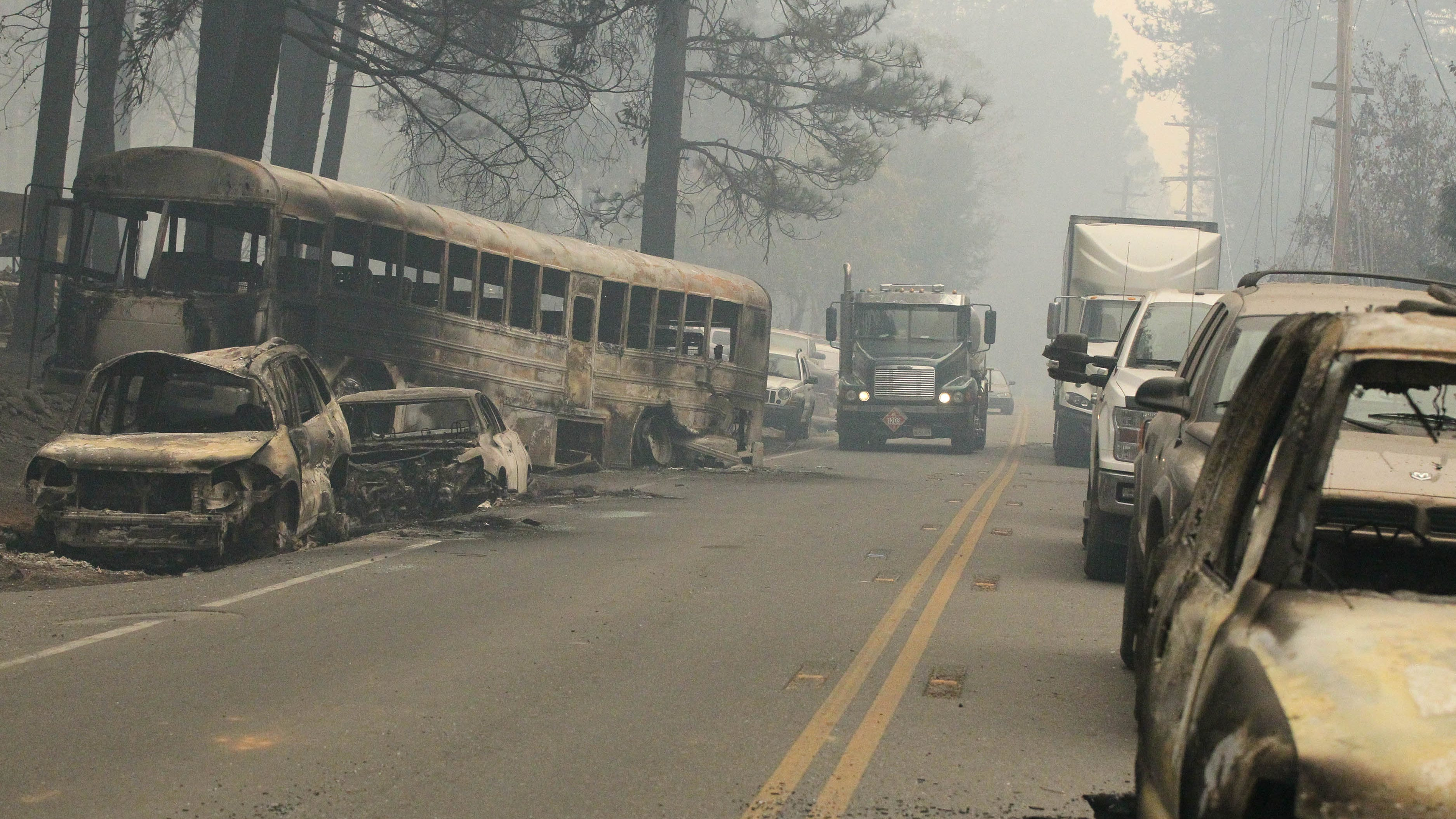 California wildfire evacuations are becoming deadly traffic jams