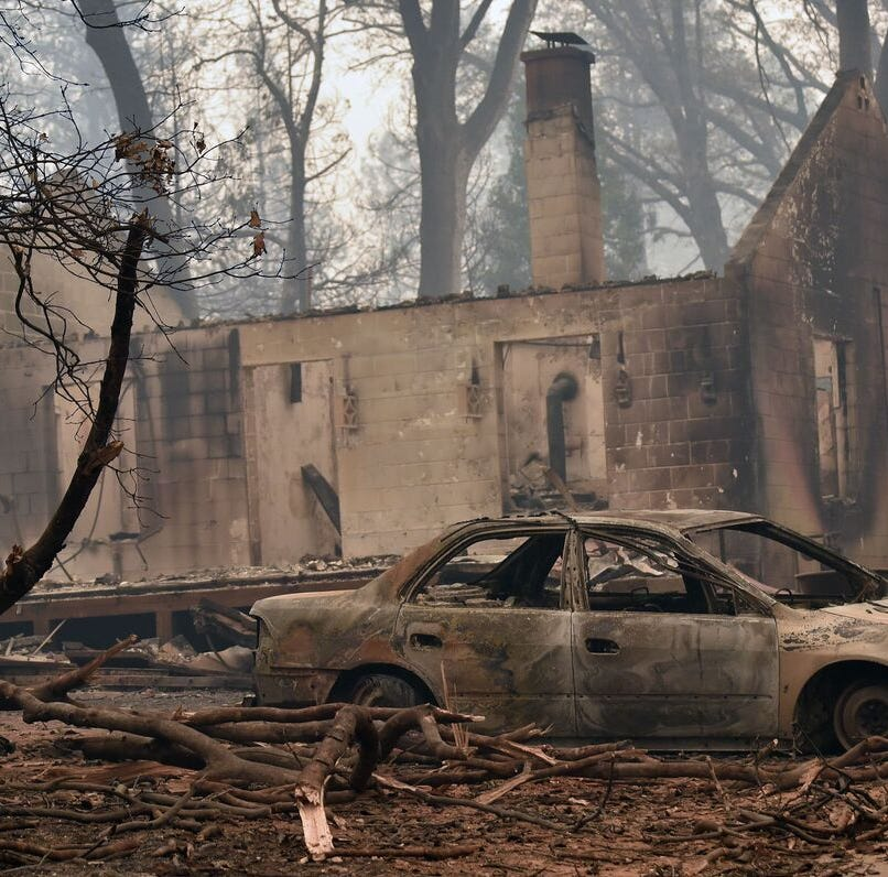 Camp Fire's fury overwhelmed fire-wary residents of Paradise
