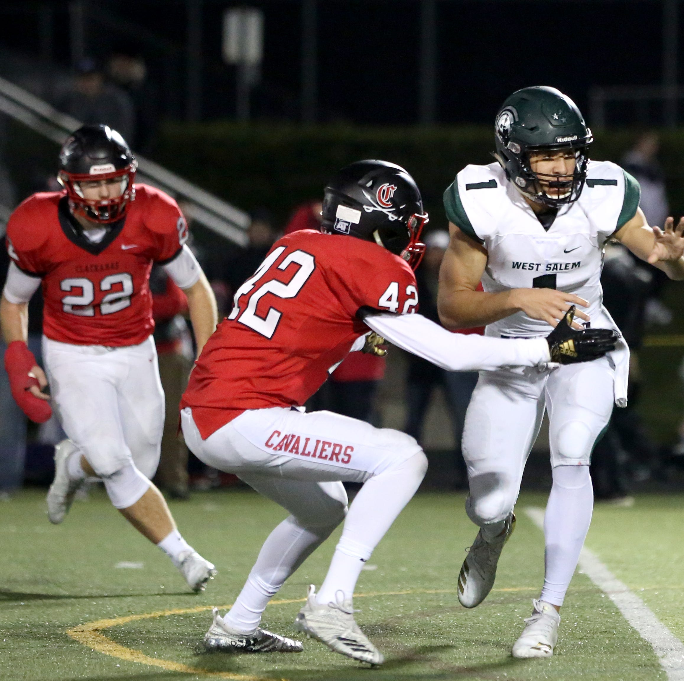 Football playoff live scores: West Salem, Silverton lose in second round