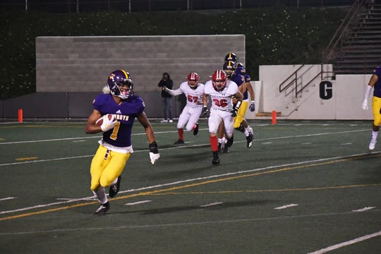 Last year's playoff game against San Benito was the last football game before the field at the Pit will be resurfaced this summer.