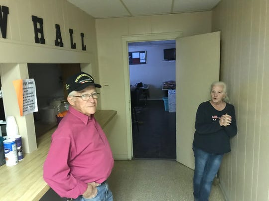 VFW Post 1815 Commander John Muckleroy and manager Janet Sheppard talk about different events hosted at the hall, located at 125 S. Browning St. in San Angelo.