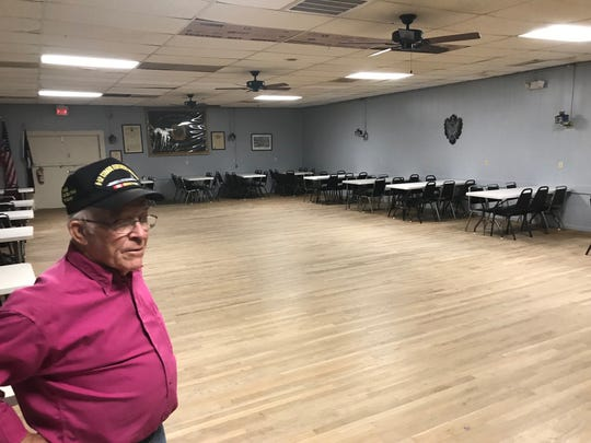 VFW Post 1815 Commander John Muckleroy said the hall has one of the best dance floors in West Texas.