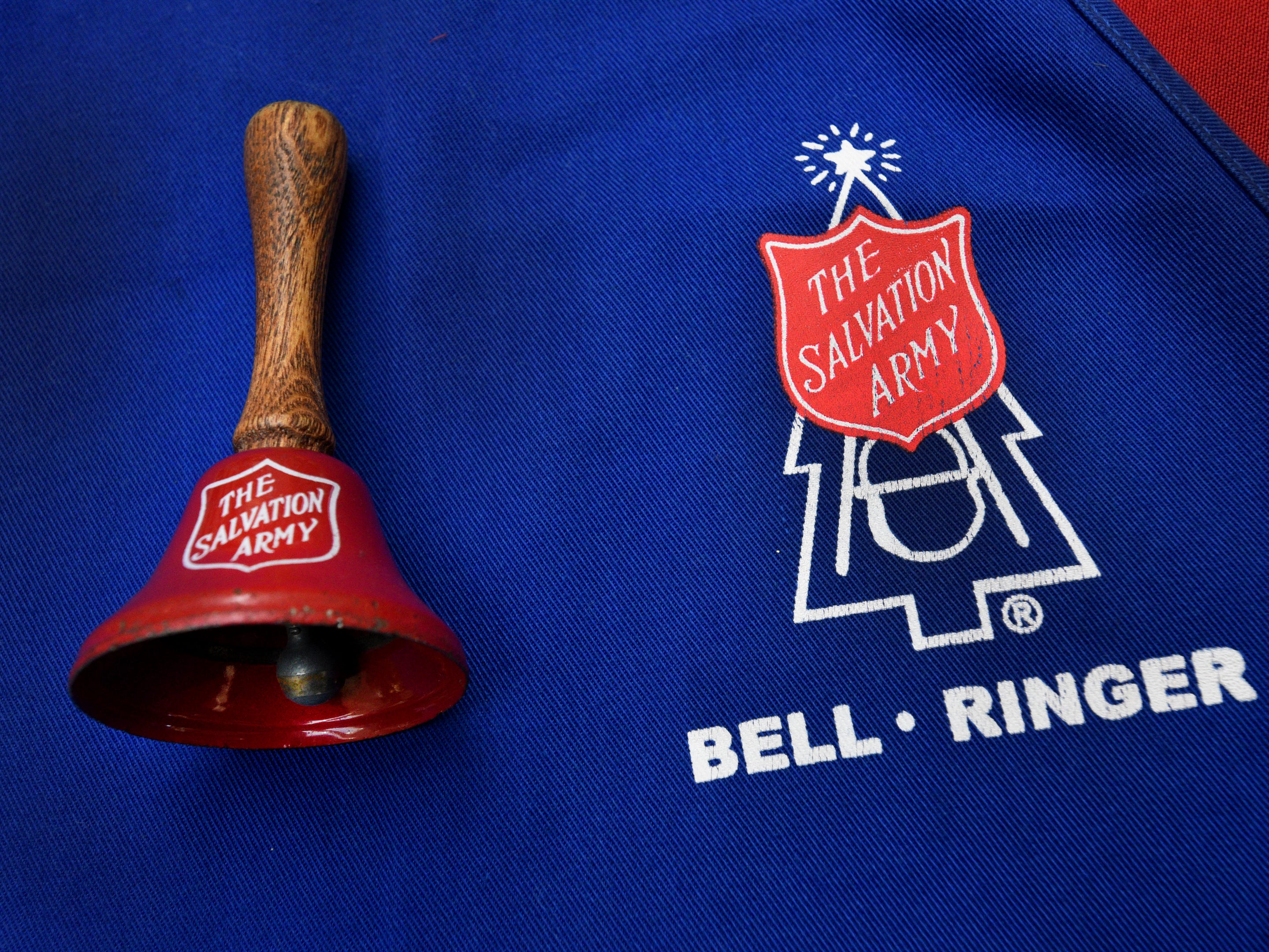 The Salvation Army Angel Tree and Red Kettle Campaign 2018 Holiday Kick-off at Bossier City's Pierre Bossier Mall.