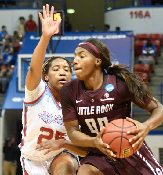 Lady Techster Basketball Vs Ualr