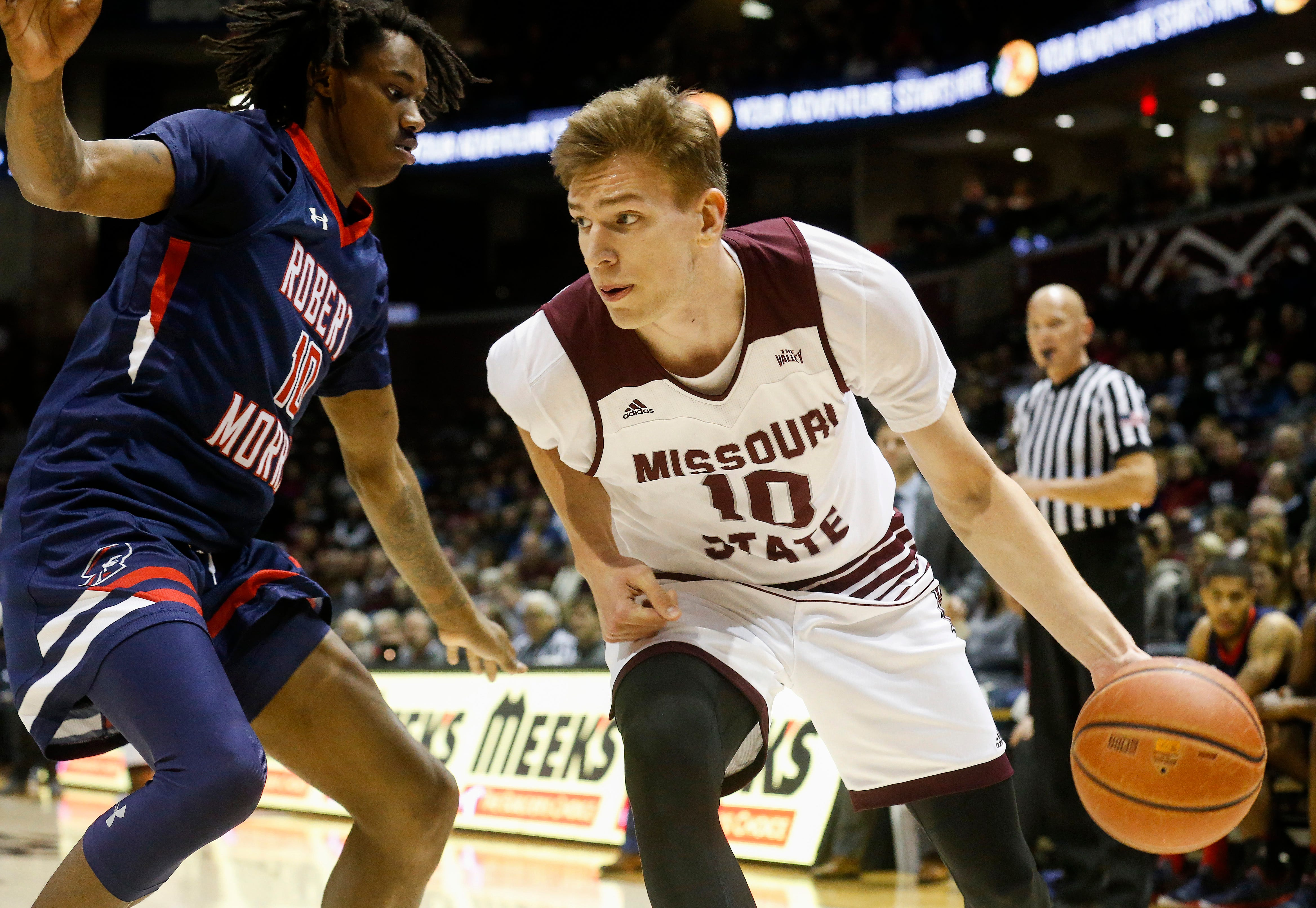 Missouri State University defeated Robert Morris 74-60 at JQH Arena on Friday, Nov. 9, 2018.