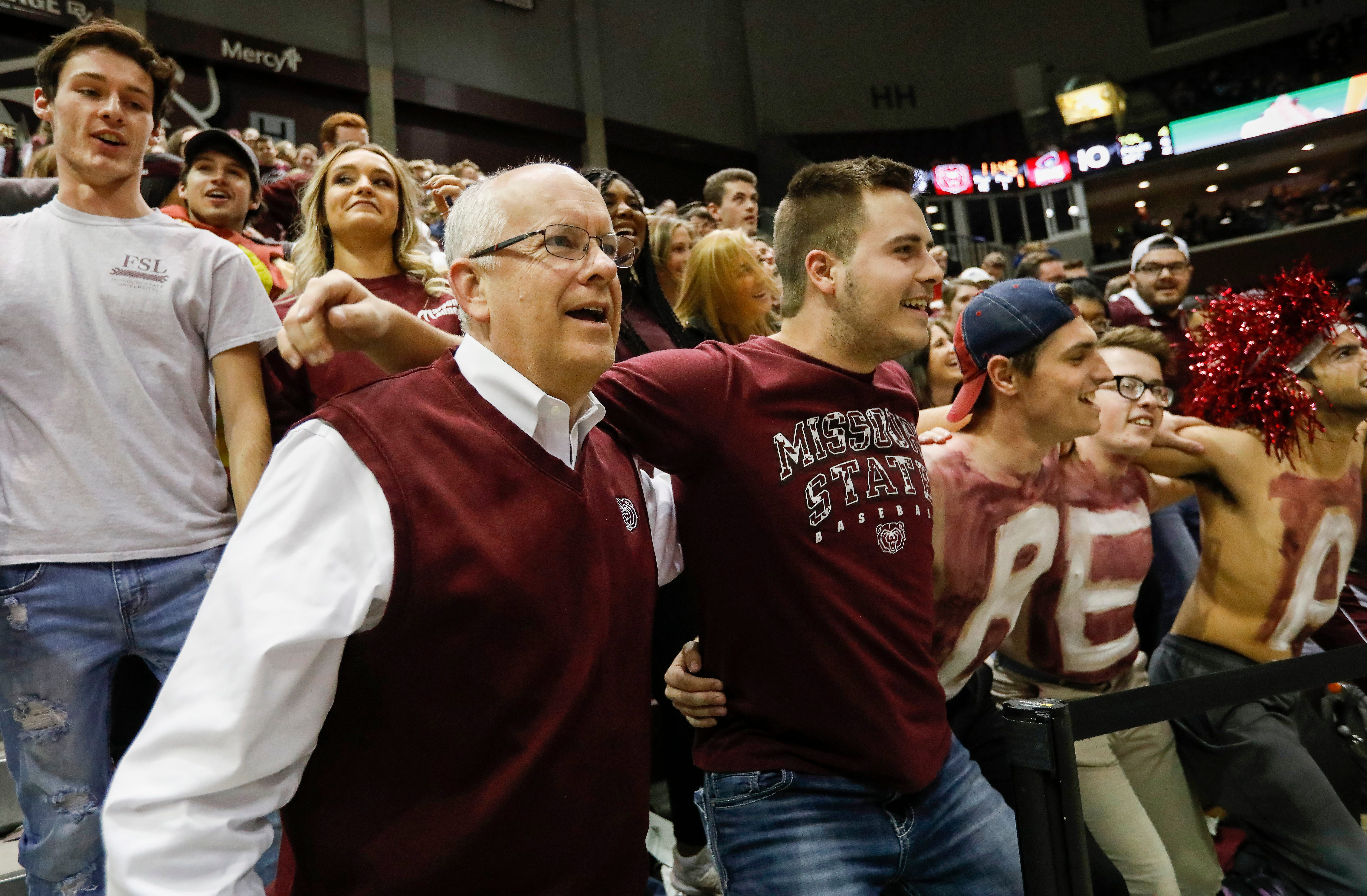 Missouri State University defeated Robert Morris 74-60 at JQH Arena on Nov. 918 in front of a crowd of 5,038 fans.