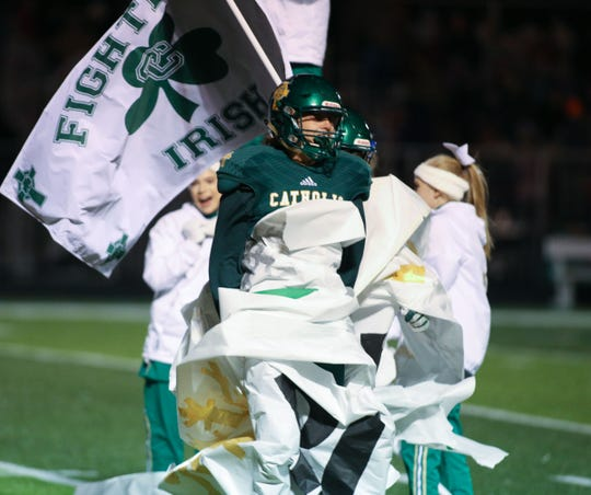 Springfield Catholic took on Buffalo at home in a Class 3 district championship game on Friday, Nov. 9, 2018.