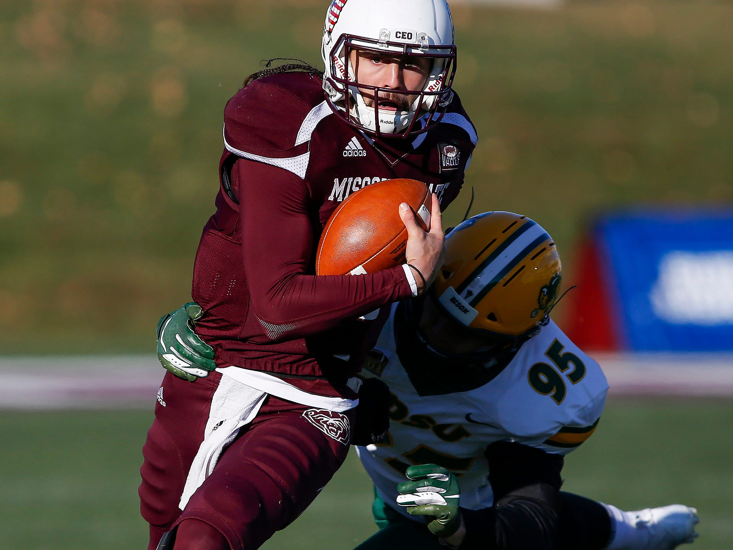 Missouri State University took on North Dakota State in their last home game of the season at Plaster Stadium on Saturday, Nov. 10, 2018.