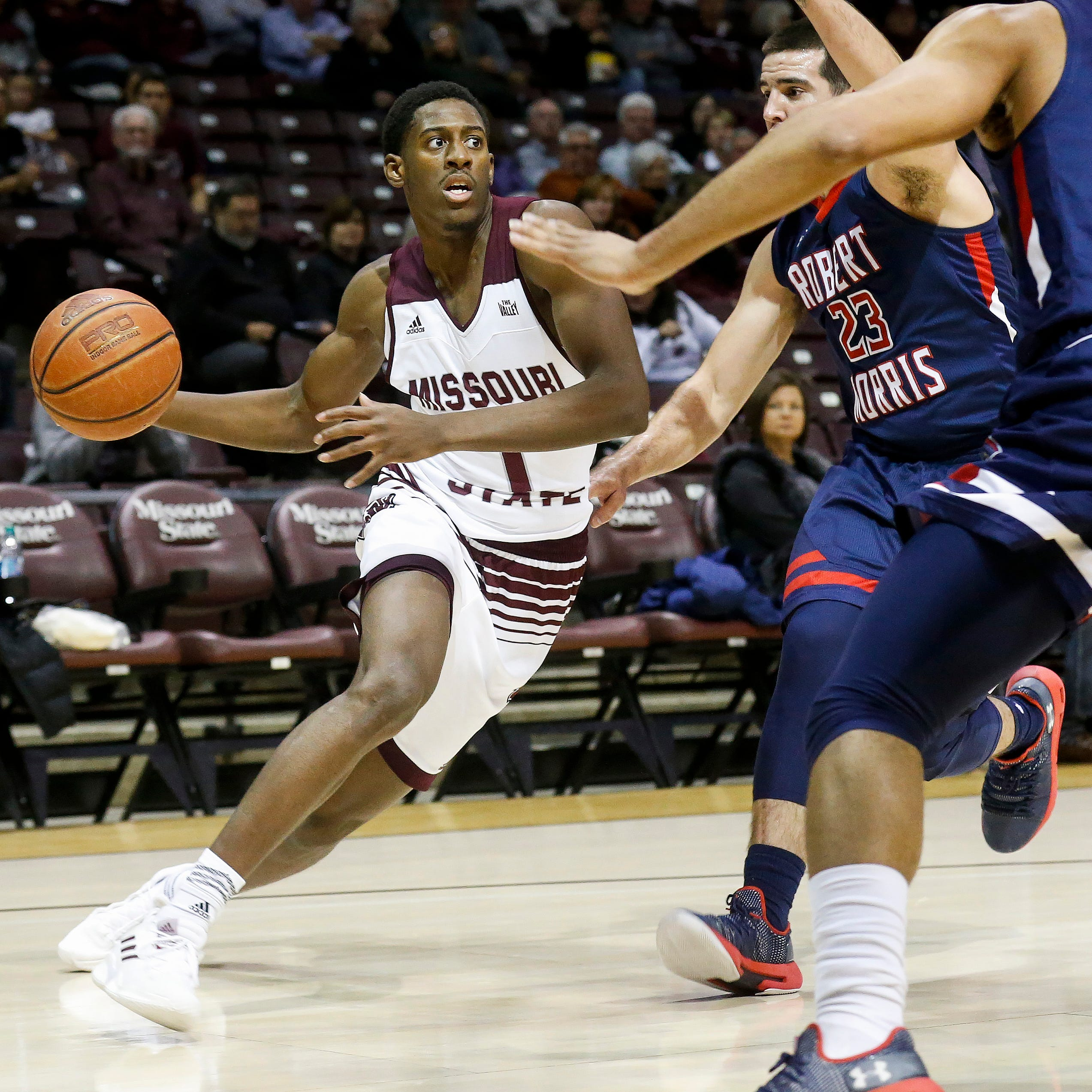 Missouri State holds on to beat Robert Morris in turnover-filled battle