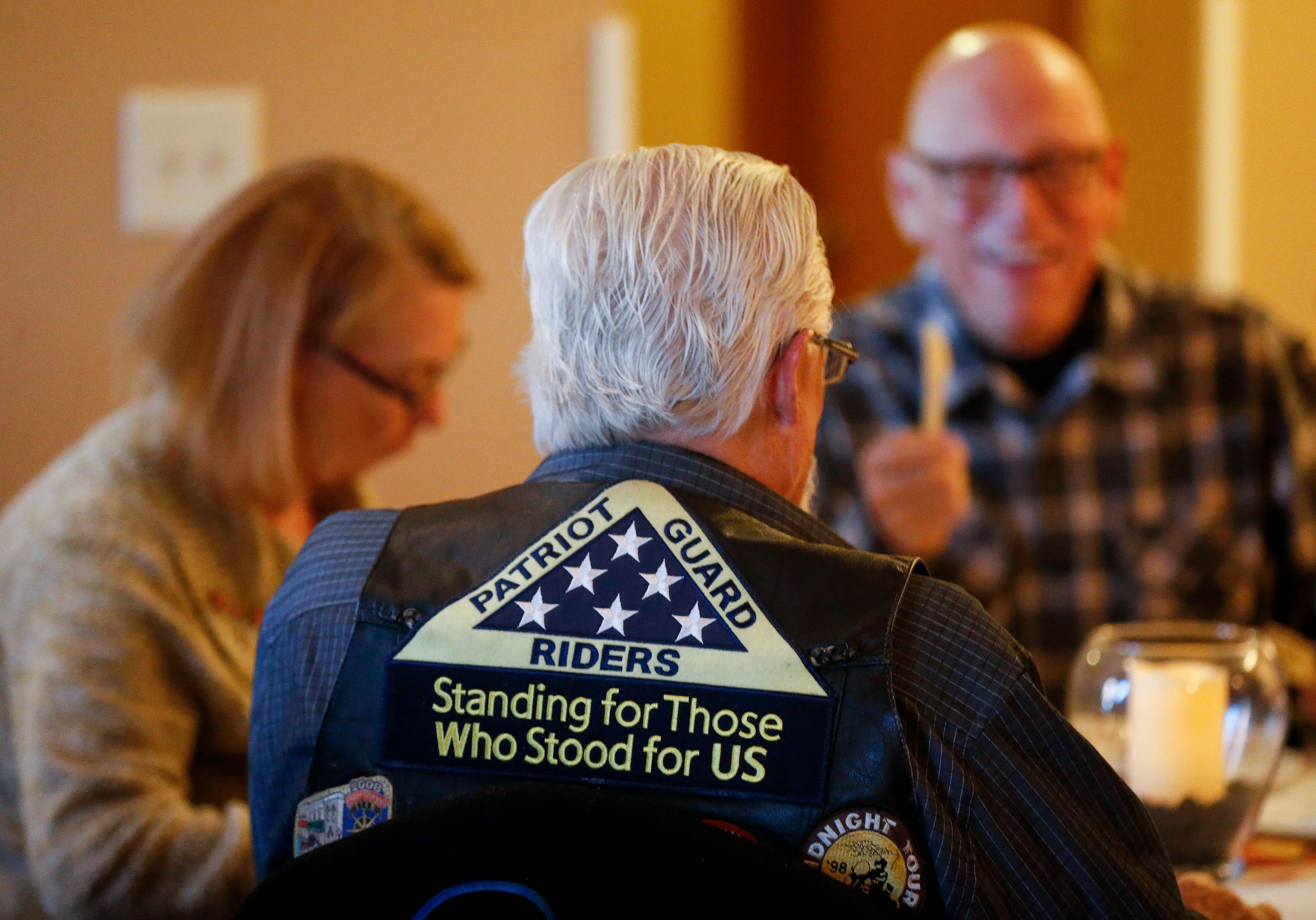 Walnut Lawn Funeral Home held a Veterans & Patriot Guard Breakfast on Nov. 10, 2018.
