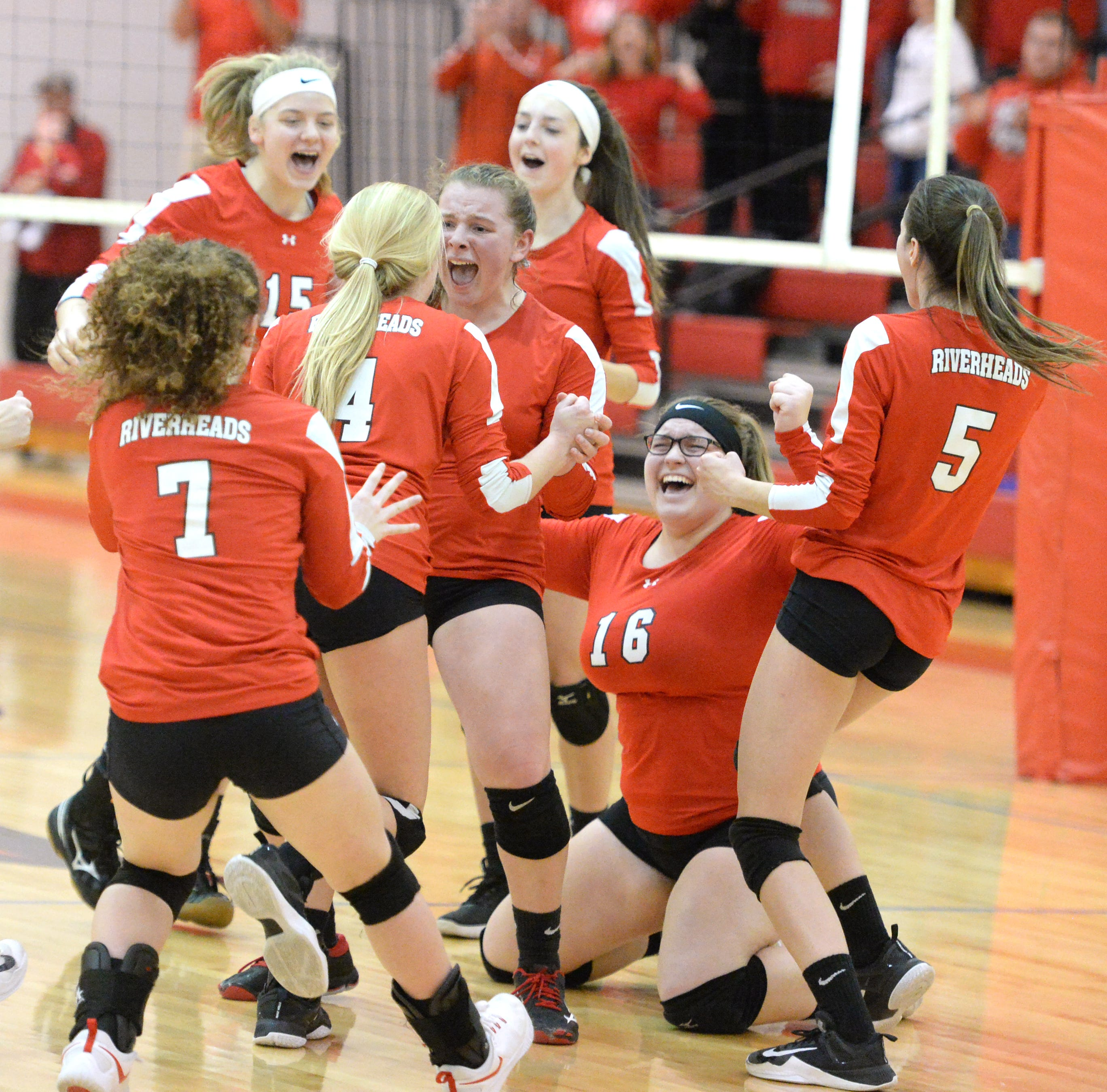 Riverheads advances to state volleyball semifinals