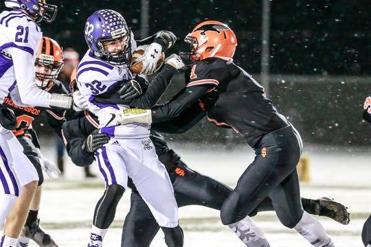 The Iola-Scandinavia defense will be tested in the Division 6 state championship game by Racine Lutheran running back Tyler Tenner, who has rushed for 2,149 yards and 26 touchdowns this season.