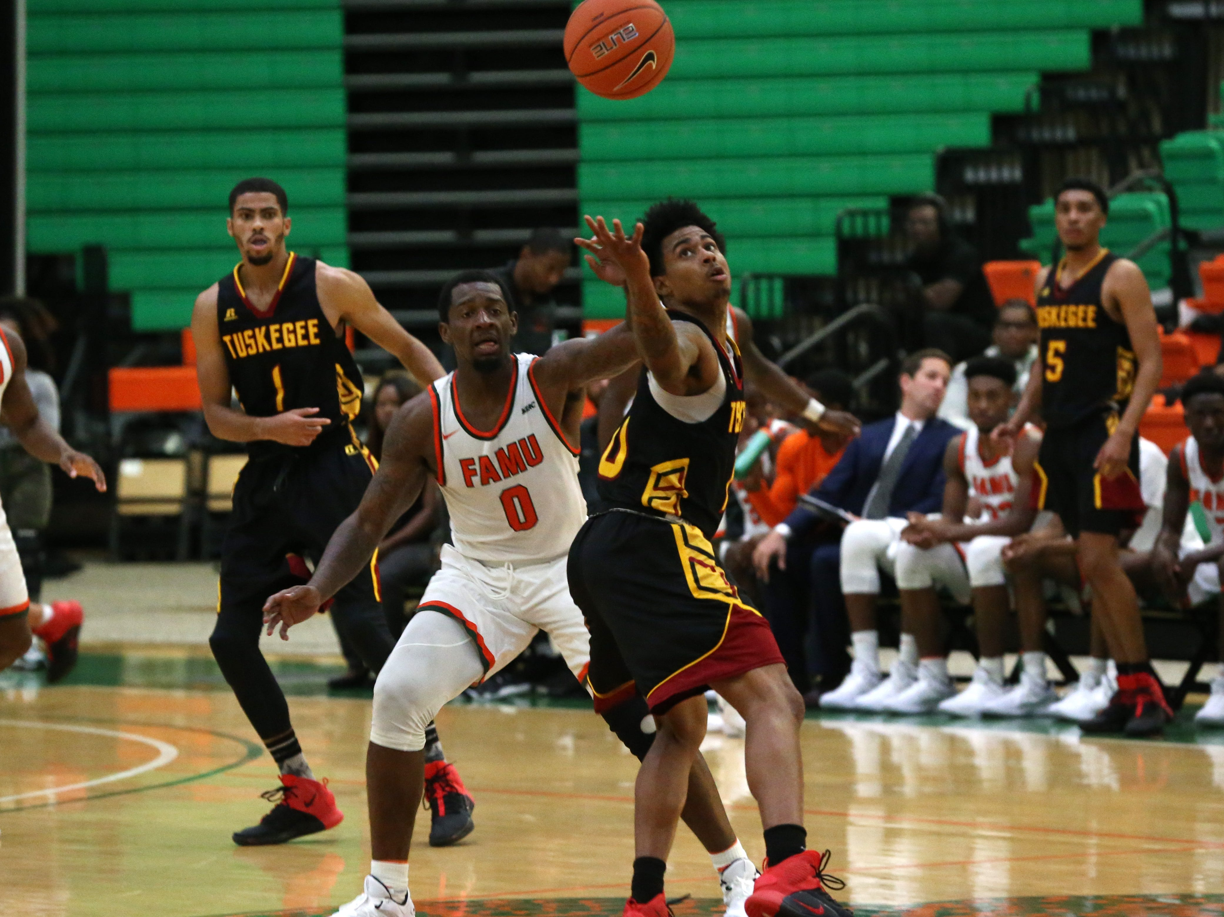 The FAMU Rattlers take on the Tuskegee Golden Tigers in their first home game of the season in the Lawson Center, Saturday, Nov. 10, 2018.