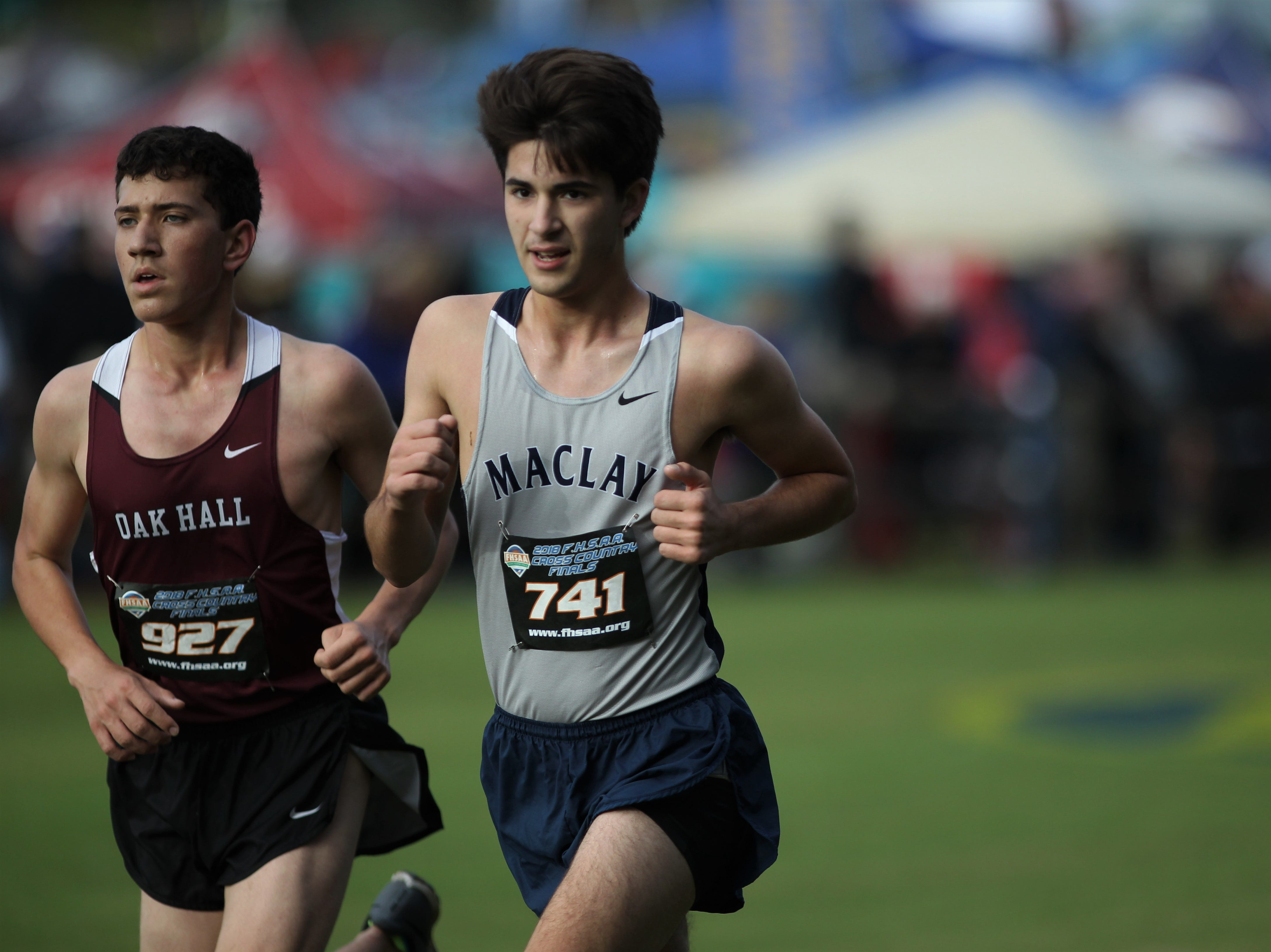 FHSAA Cross Country State Championships at Apalachee Regional Park on Saturday, Nov. 10, 2018.