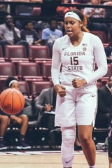 FSU forward Kiah Gillespie had 17 points and 13 rebounds in the Seminoles' 74-53 win over North Florida.