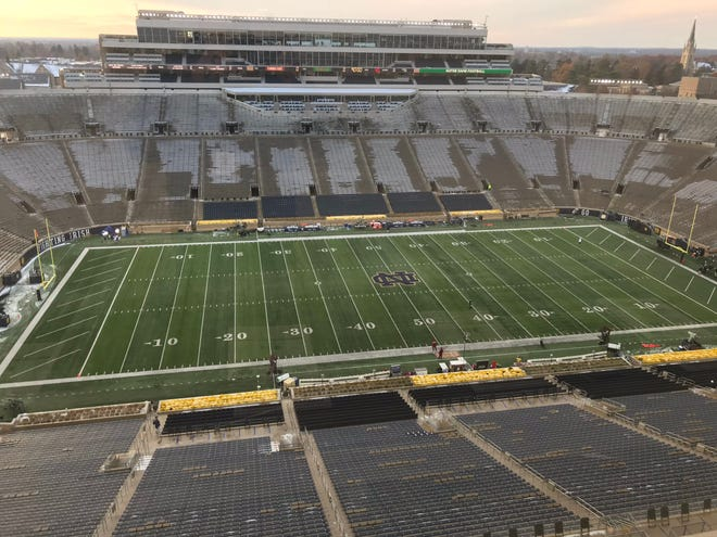 Florida State takes on Notre Dame in Notre Dame Stadium Saturday evening at 7:30 p.m.