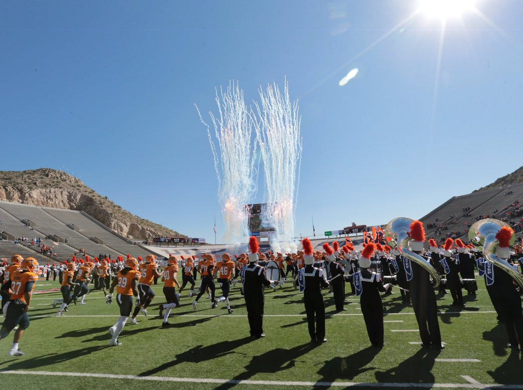 UTEP and Middle Tennessee face off at Sun Bowl
