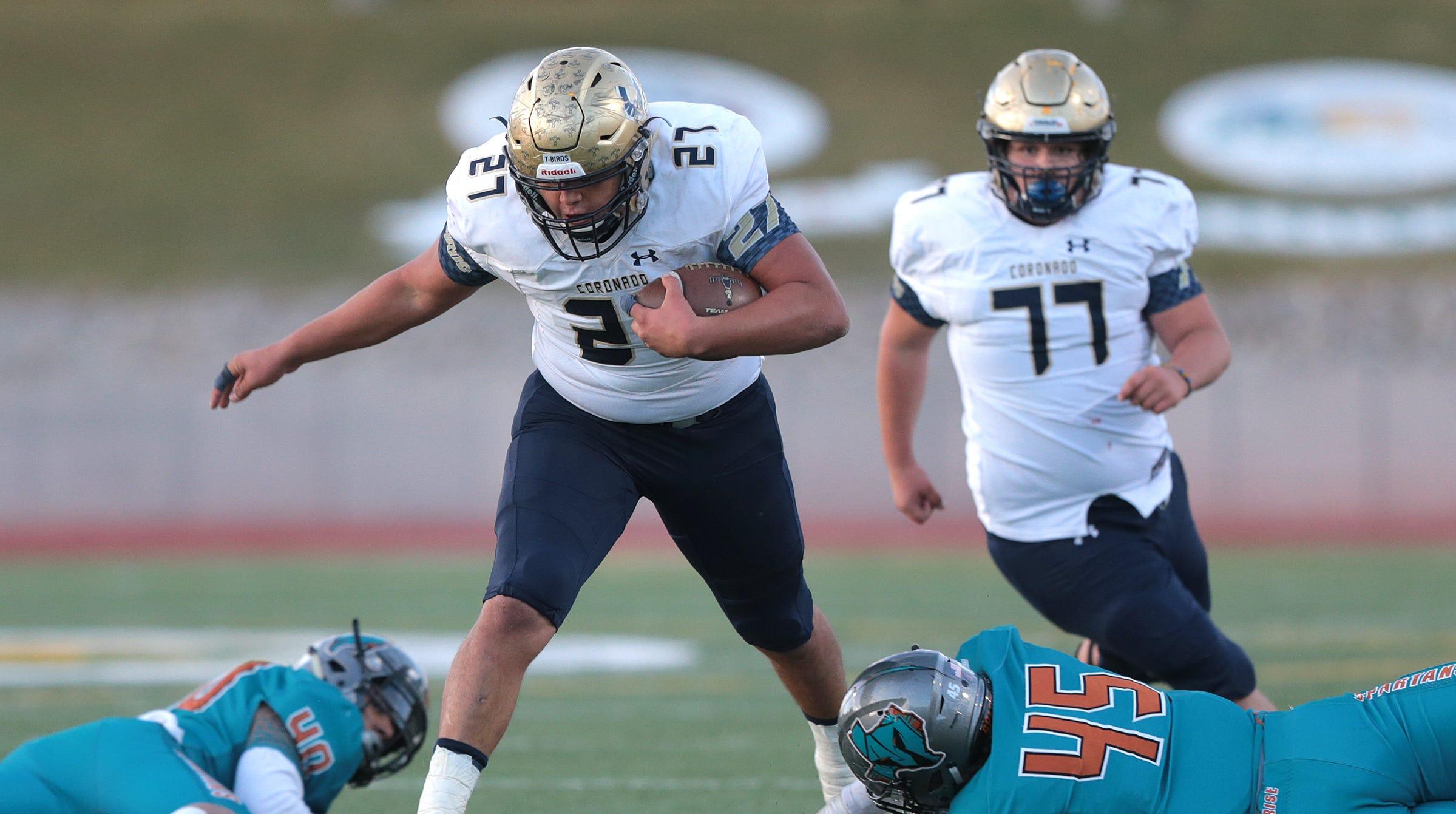 El Paso High School Football Teams Start State Playoffs Thursday