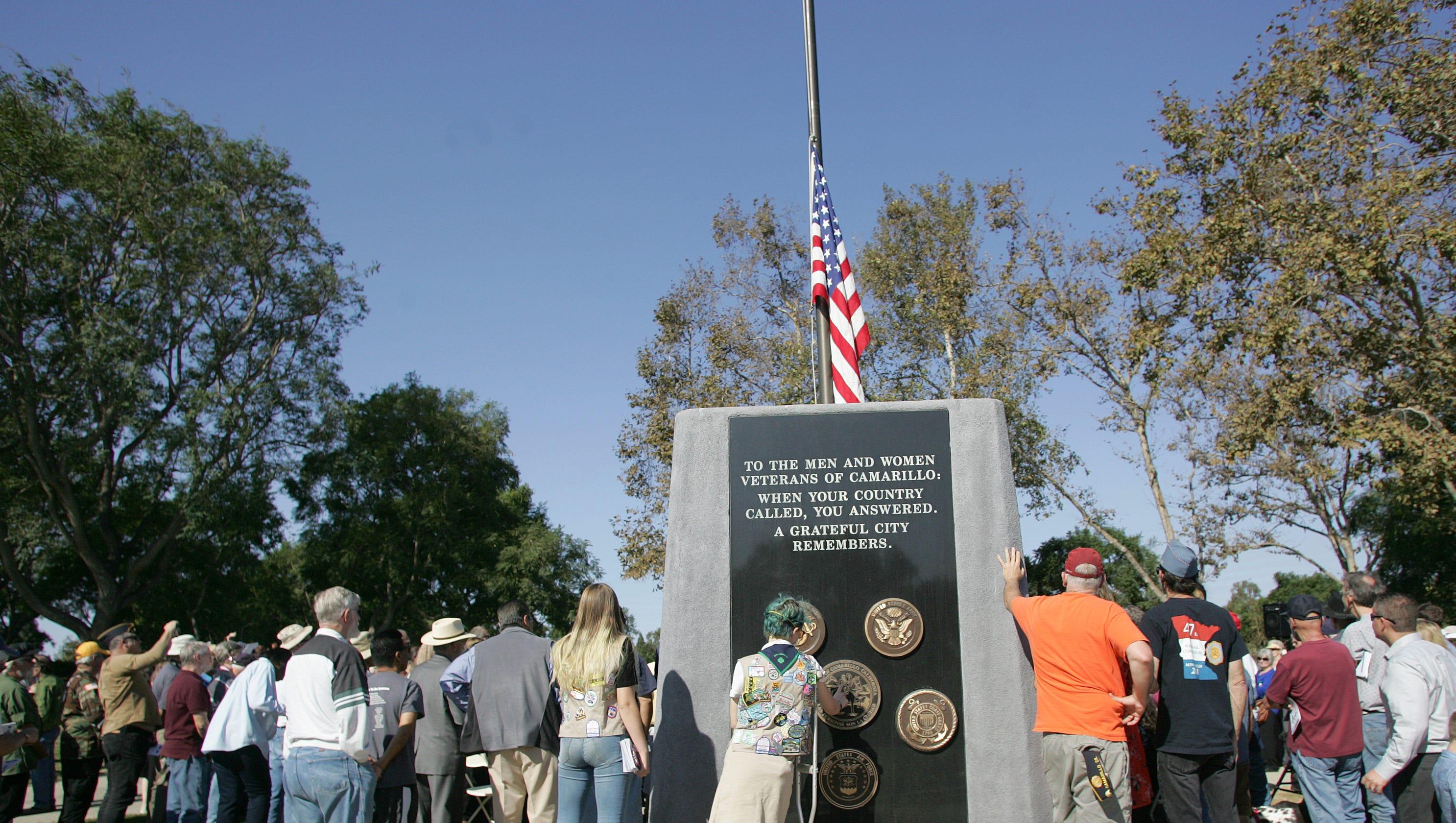 Camarillo Pays Tribute To Fallen Wartime Veterans