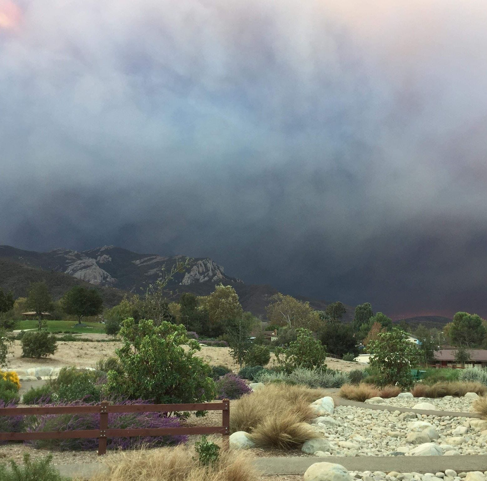 Public health emergency declared due to wildfires in Ventura County