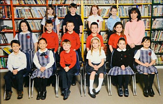 Mrs. Glogau's Bishop Schad Regional School, second grade class, 2008-2009.