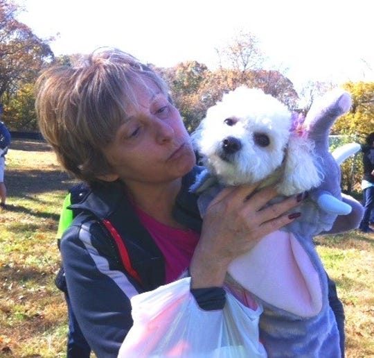 Cumberland Cape Atlantic YMCA's Barkfest celebrated good health, the love between dogs and people, and responsible pet ownership. Theresa Booth and Bella shared the love.