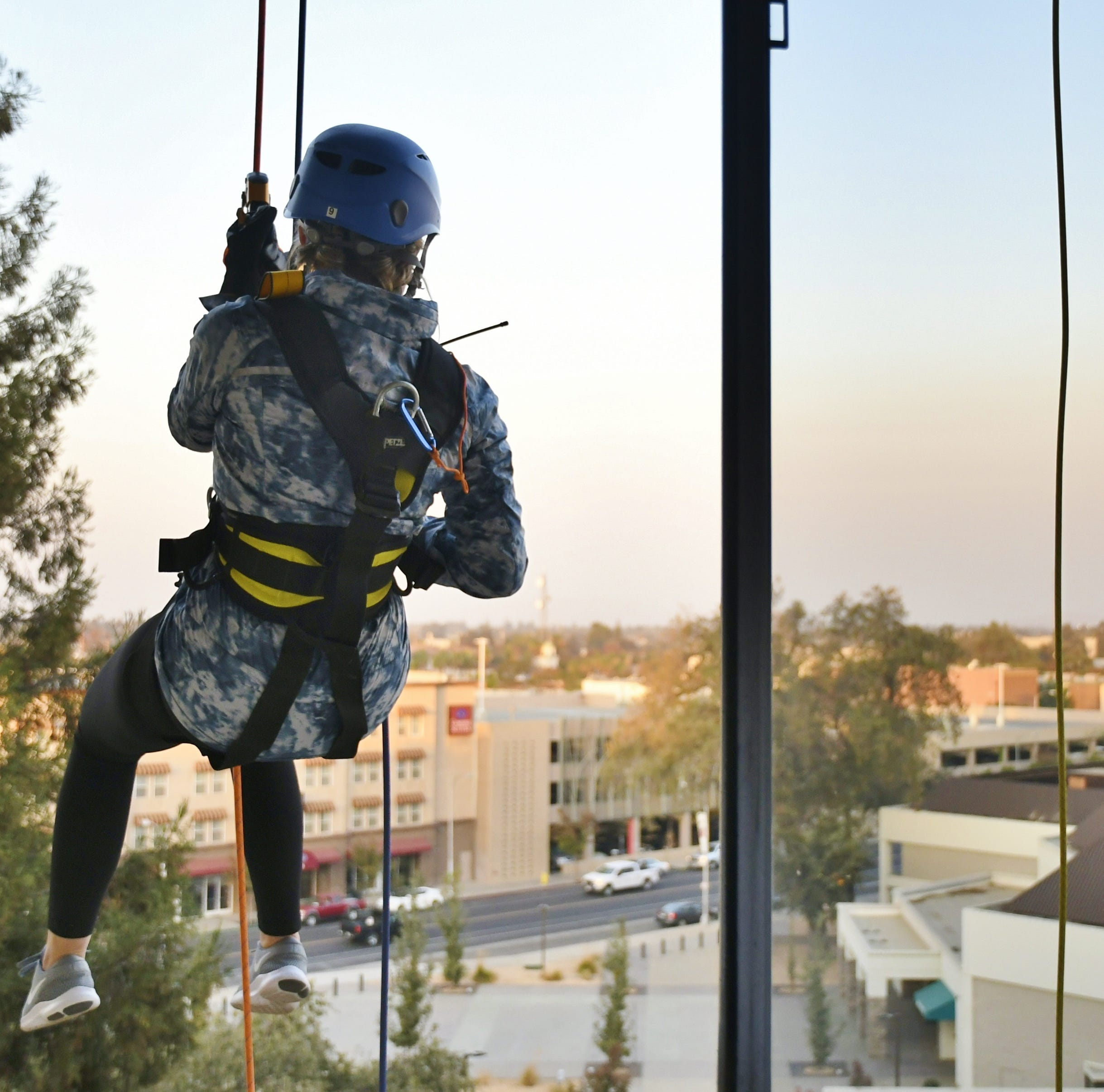 LGBT+ Center sends 92 over the edge, plus these Visalia Times-Delta employees