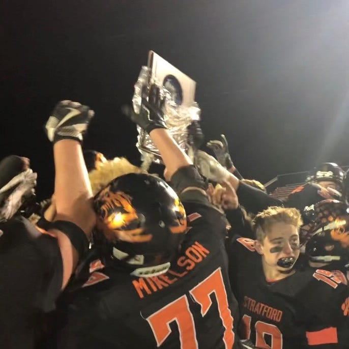 WIAA football playoffs: Kade Ehrike helps carry Stratford to first state berth in decade