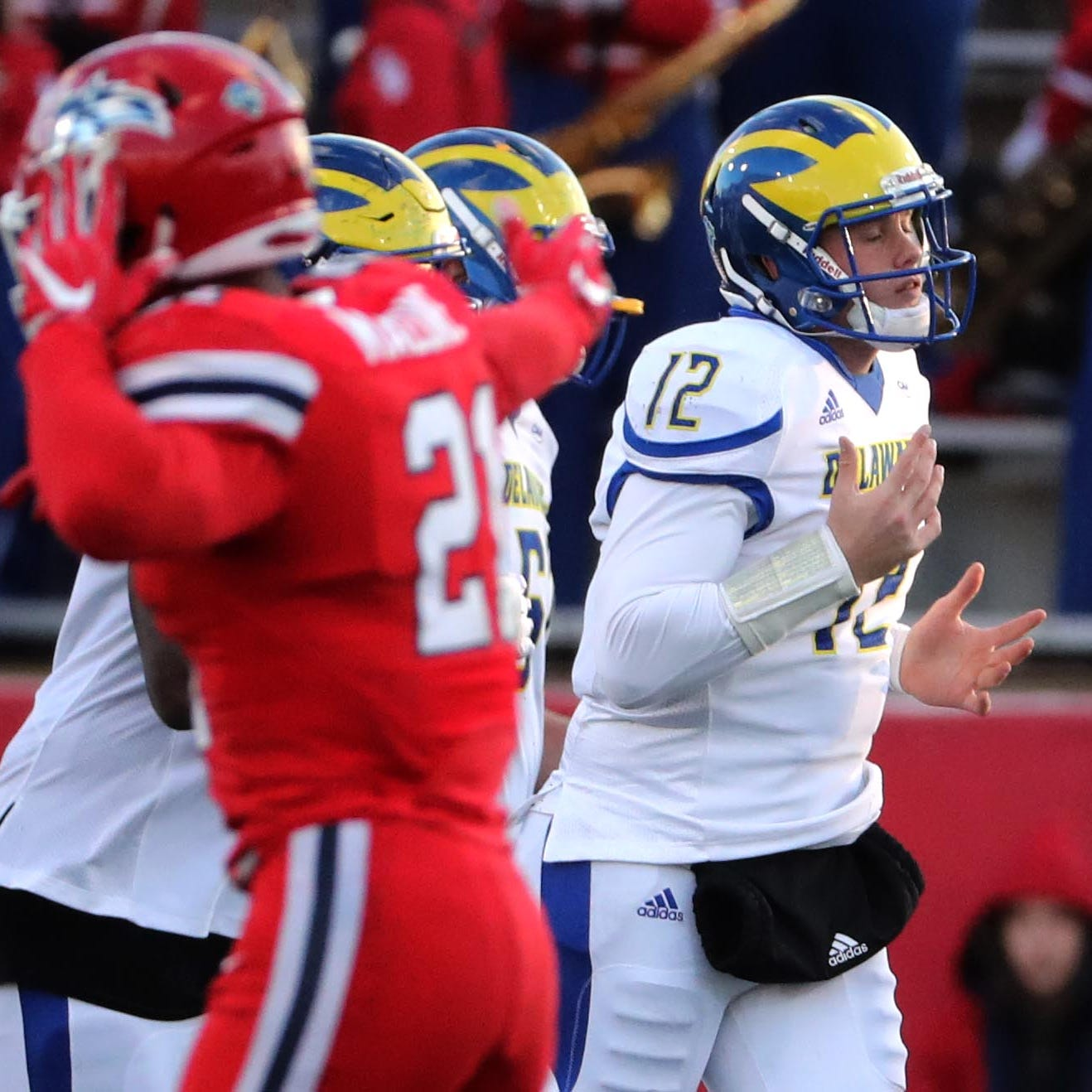 Delaware's offense, kicking game sputter in loss to Stony Brook