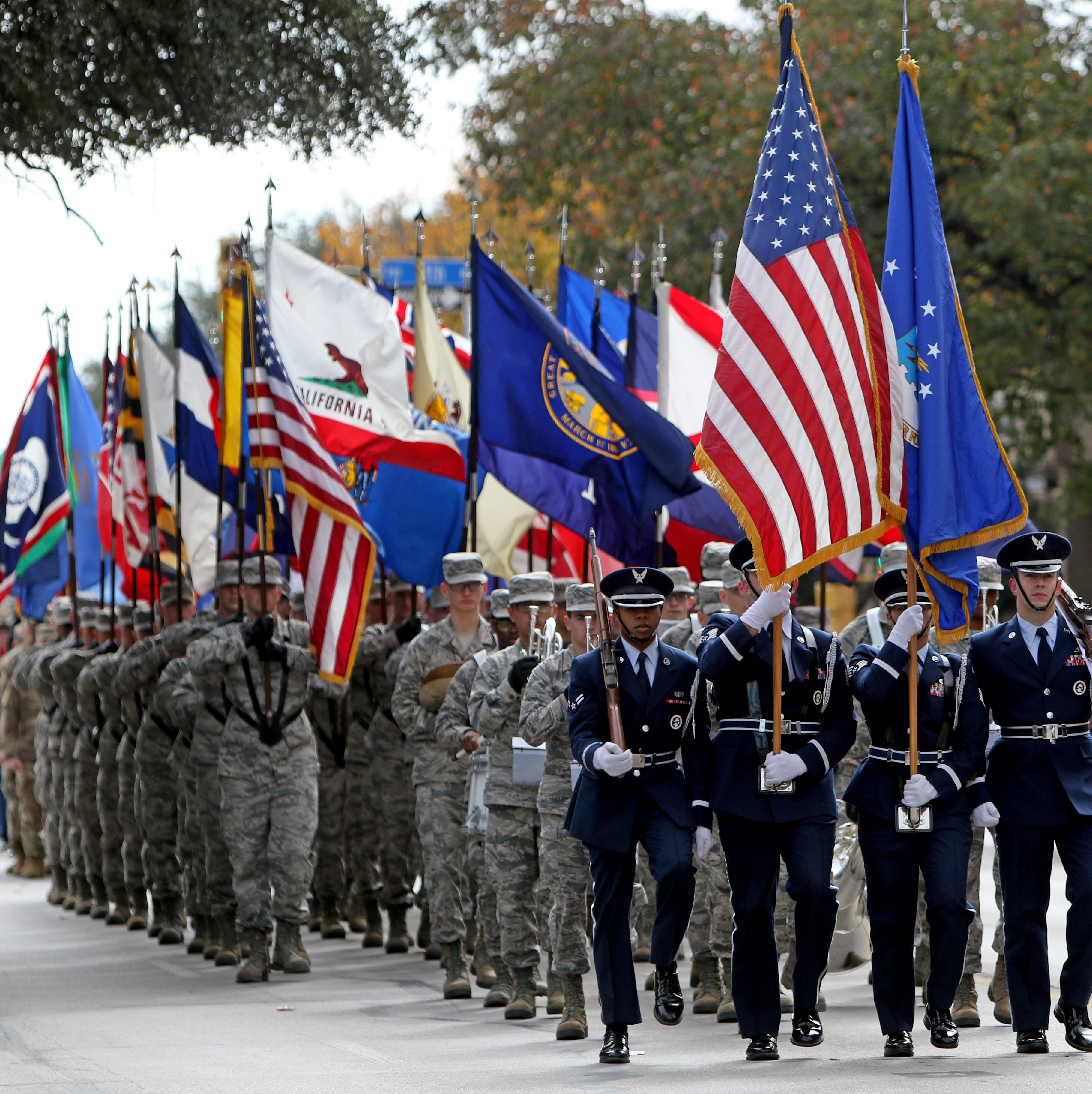 Veterans Day Parade honors past and present members of the military