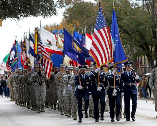 Wichita Falls Veterans Day Parade