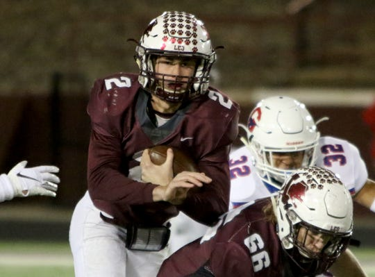 Vernon quarterback BT White is week-to-week after suffering an ankle injury in Week 1.