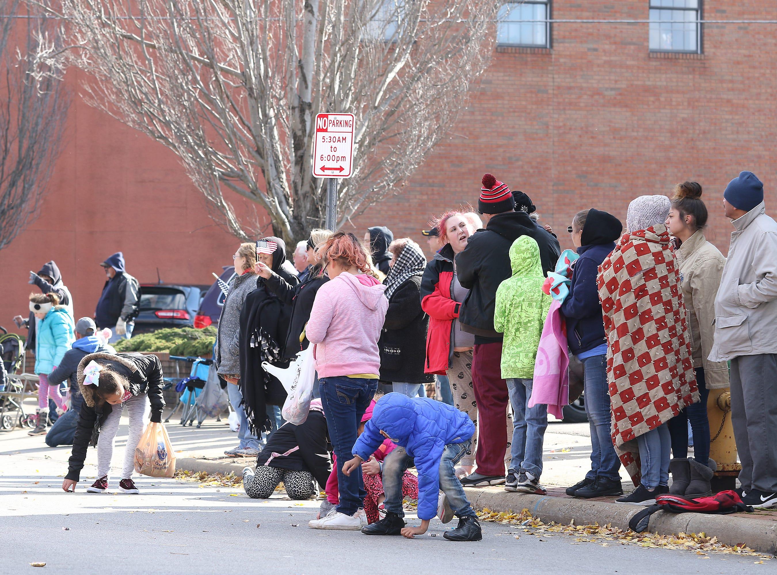 The Zanesville Veterans Day Parade wound its way through downtown Zanesville on Saturday.