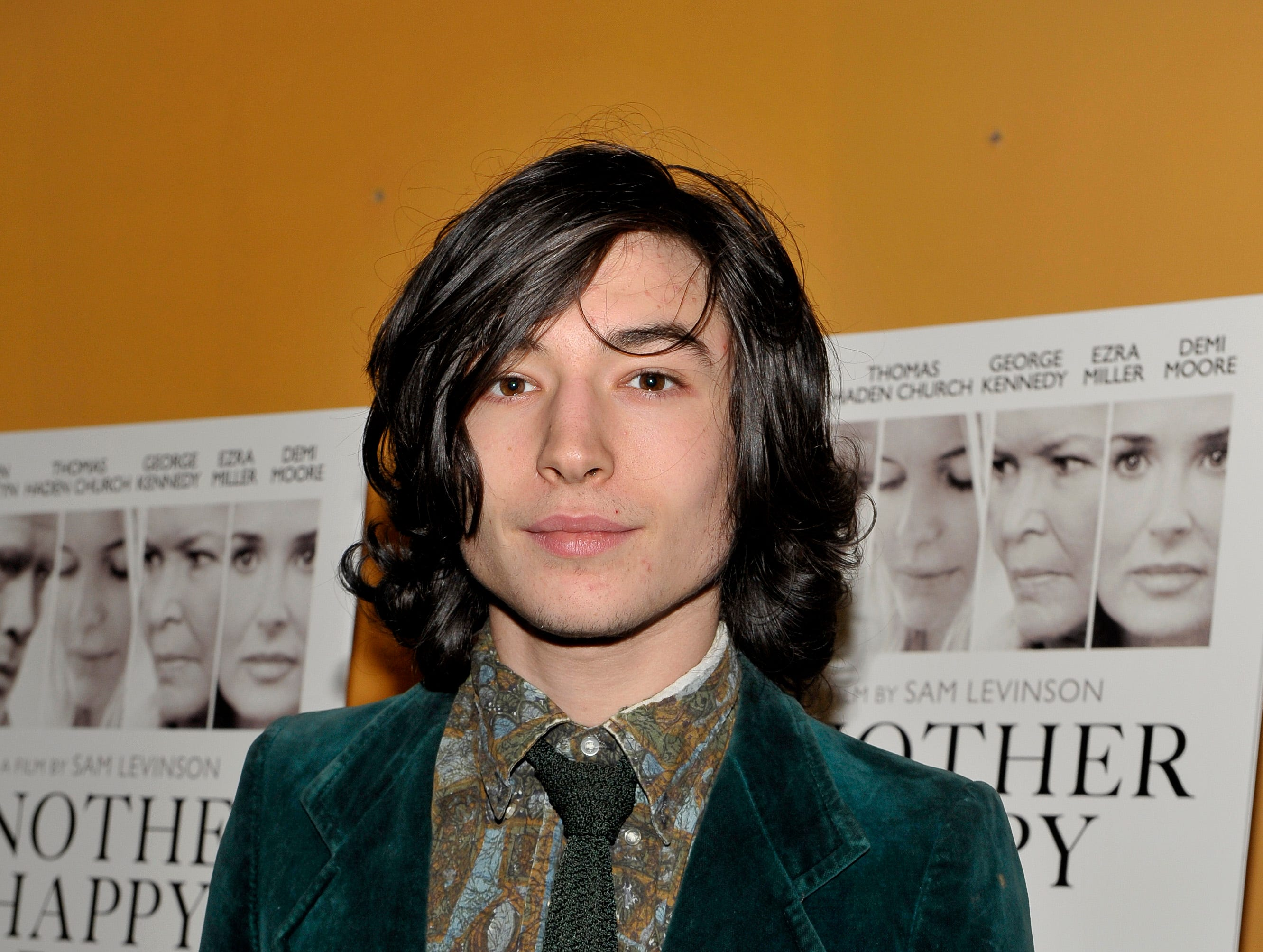 """ORG XMIT: 132722727 NEW YORK, NY - NOVEMBER 14: Ezra Miller attends a screening of """"Another Happy Day"""" at Sunshine Landmark on November 14, 2011 in New York City. (Photo by Michael N. Todaro/Getty Images) ORIG FILE ID: 132863220"""