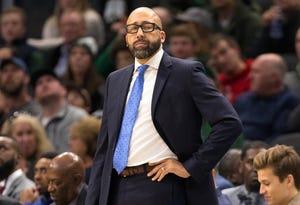 David Fizdale is in his first season as Knicks head coach.