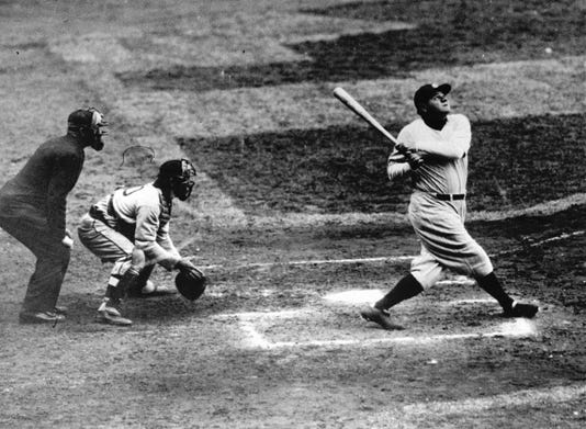 Ap Baseball Babe Ruth 60th Hr Bat S Bbo Usa