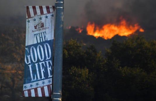 Usp News California Wildfire A Usa Ca
