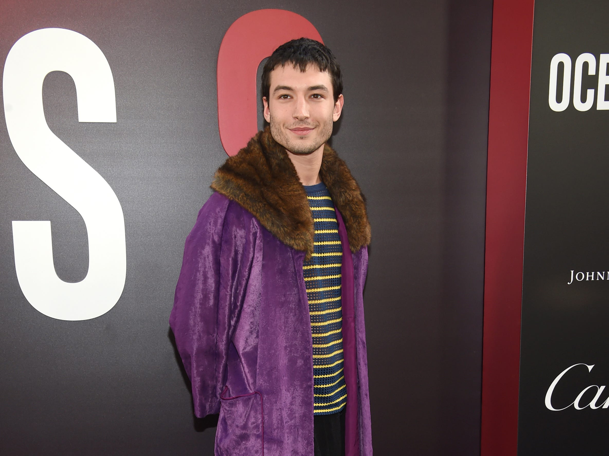 """Ezra Miller attends the world premiere of """"Ocean's 8"""" at Alice Tully Hall on Tuesday, June 5, 2018, in New York. (Photo by Evan Agostini/Invision/AP) ORG XMIT: NYAK122"""