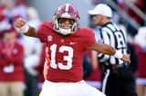 USA TODAY Sports' Dan Wolken and Paul Myerberg react to the latest College Football Playoff rankings and ponder the chaos that could ensue if Georgia can upset Alabama in two weeks.