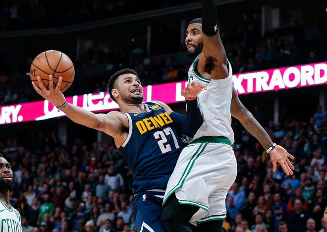 Kyrie Irving took offense to Jamal Murray's attempt at 50 points earlier this week.