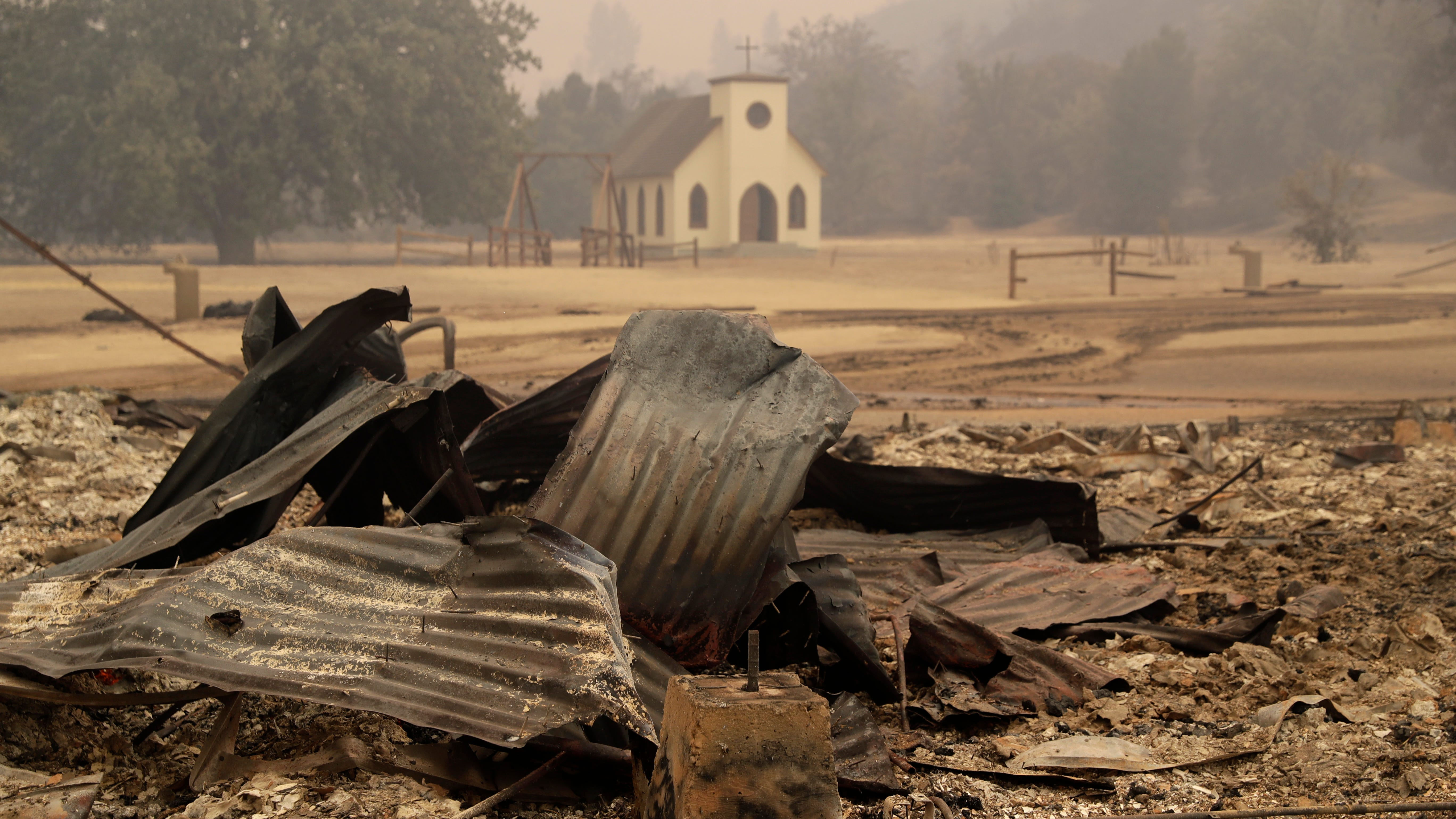'Westworld' Western set burns down in Southern California's fast-moving Woolsey wildfire