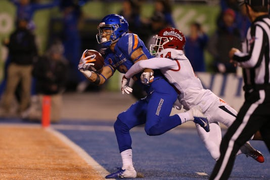 Ncaa Football Fresno State At Boise State