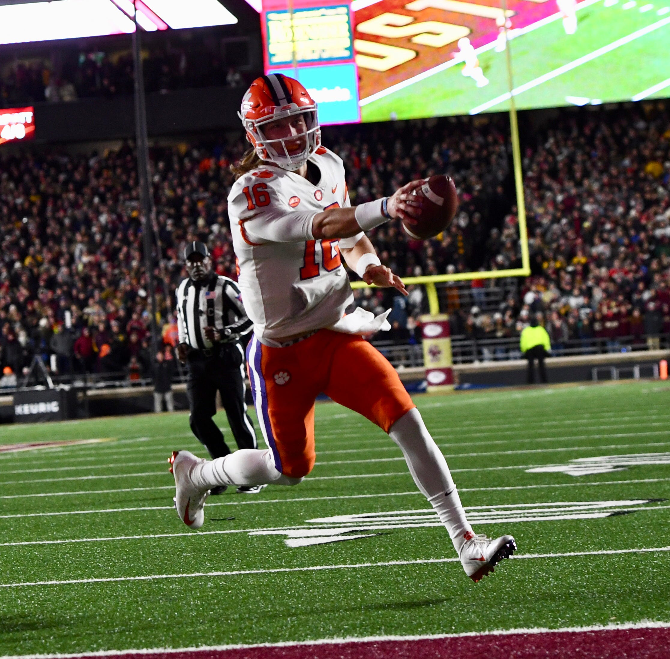 Trevor Lawrence, Tanner Muse tabbed Clemson's Players of the Game vs. Boston College