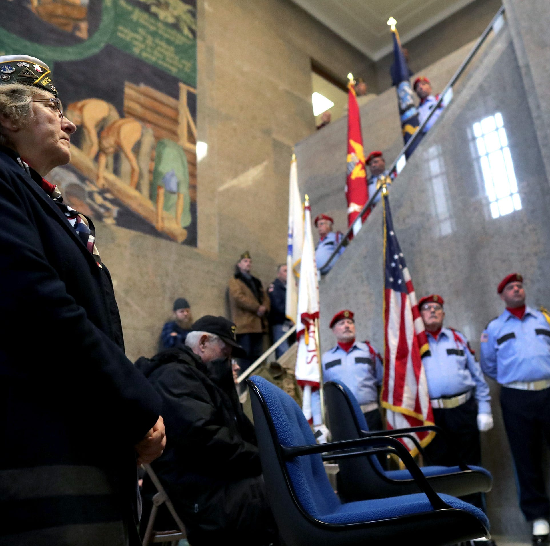 Solemn Veterans Day ceremony in Appleton marks 100 years since end of World War I