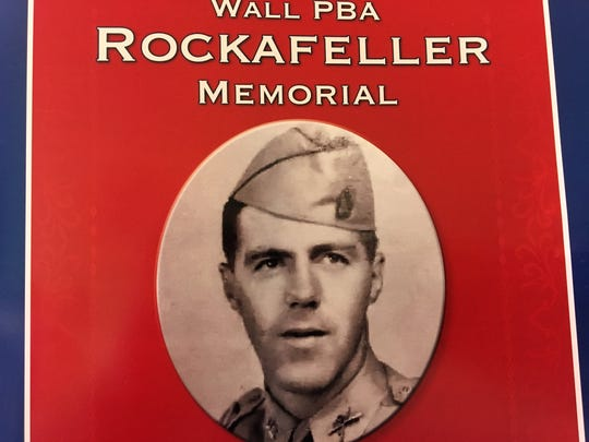 Program cover for the Rockafeller Memorial dedication.
