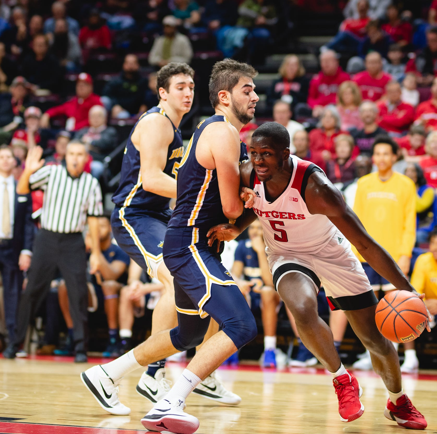 Rutgers basketball: Eugene Omoruyi leads offensive explosion in romp of Drexel